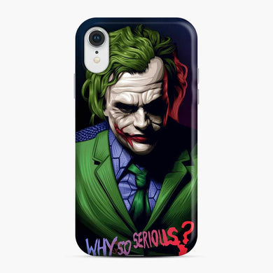 Joker Why So Serious iPhone XR Case, Snap Case
