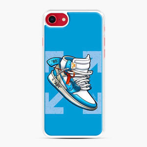 Jordan 1 Off White Arrow Blue iPhone 11 Pro Max Case