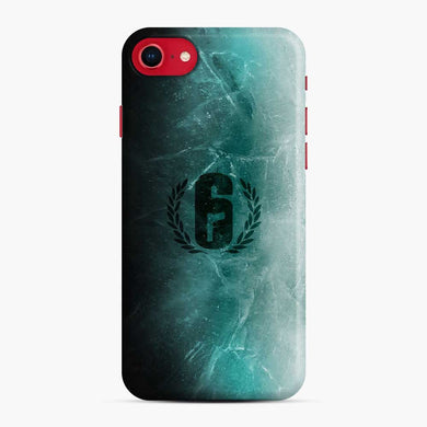 Jtf2 Black Ice R6 iPhone 7 / 8 Case, Snap Case