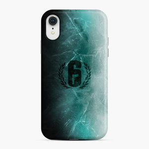 Jtf2 Black Ice R6 iPhone XR Case, Snap Case