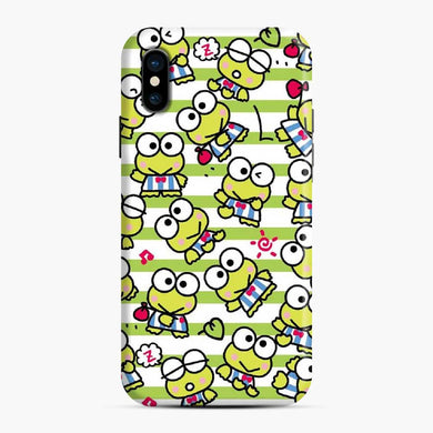Kerokero Keroppi Cute And Funny 3 iPhone X / XS Case, Snap Case