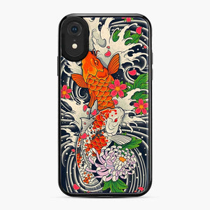 Koi Fish Pond iPhone XR Case