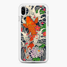 Load image into Gallery viewer, Koi Fish Pond iPhone XR Case