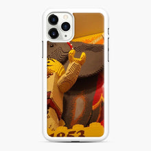 Load image into Gallery viewer, Lego New York Historical Scene Store Fifth Avenue, New York City iPhone 11 Pro Max Case, White Rubber Case