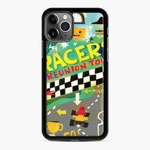 Load image into Gallery viewer, Lego Racers Reunion Tour iPhone 11 Pro Max Case, Black Rubber Case