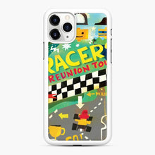 Load image into Gallery viewer, Lego Racers Reunion Tour iPhone 11 Pro Max Case, White Rubber Case