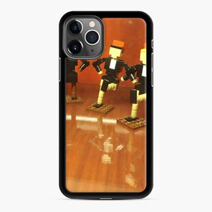Lego Rockettes Store Rockefeller Center, New York City iPhone 11 Pro Max Case, Black Rubber Case
