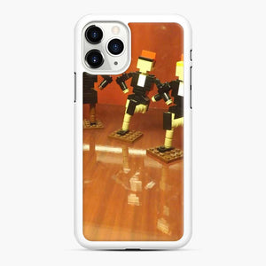 Lego Rockettes Store Rockefeller Center, New York City iPhone 11 Pro Max Case, White Rubber Case