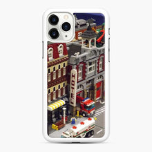 Load image into Gallery viewer, Lego Trains Buildings, Greenberg'S Train And Toy Show, Edison, New Jersey 3 iPhone 11 Pro Max Case, White Rubber Case