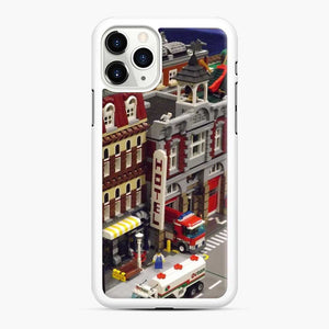 Lego Trains Buildings, Greenberg'S Train And Toy Show, Edison, New Jersey 3 iPhone 11 Pro Max Case, White Rubber Case