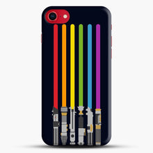 Load image into Gallery viewer, Lightsaber Rainbow iPhone 7/8 Case.jpg, Snap Case | Webluence.com