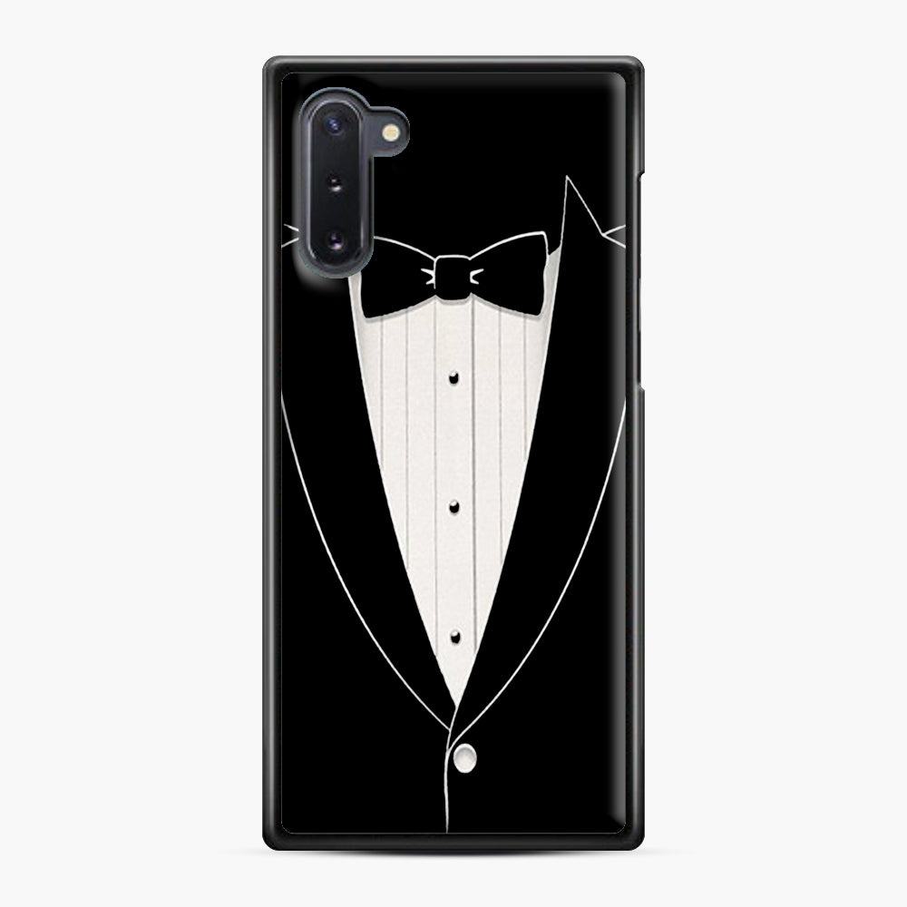 Long Sleeve Tuxedo Samsung Galaxy Note 10 Case, Black Plastic Case | Webluence.com