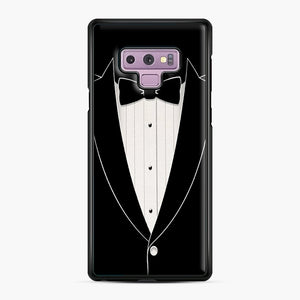Long Sleeve Tuxedo Samsung Galaxy Note 9 Case, Black Plastic Case | Webluence.com