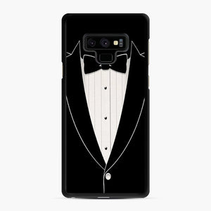 Long Sleeve Tuxedo Samsung Galaxy Note 9 Case, Black Rubber Case | Webluence.com