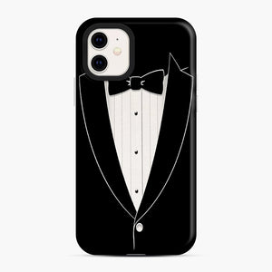 Long Sleeve Tuxedo iPhone 11 Case, Snap Case | Webluence.com