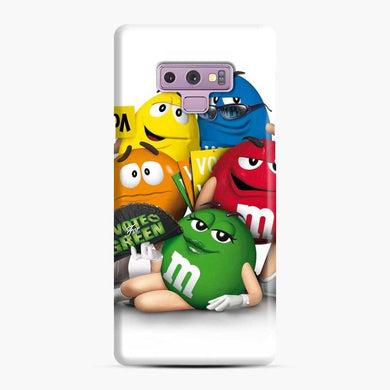 M&M'S Chocolate Samsung Galaxy Note 9 Case, Snap Case