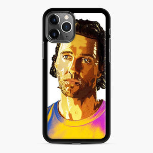Matthew Mcconaughey Alright Alright Alright Black 7 iPhone 11 Pro Max Case, Black Rubber Case