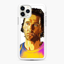 Load image into Gallery viewer, Matthew Mcconaughey Alright Alright Alright Black 7 iPhone 11 Pro Max Case, White Rubber Case