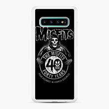 Load image into Gallery viewer, Misfits 40th Anniversary Samsung Galaxy S10 Plus Case, White Rubber Case | Webluence.com