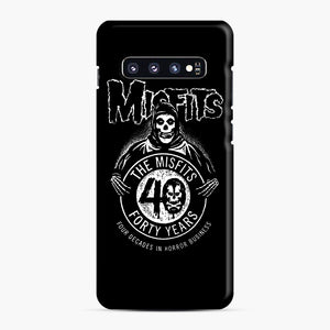 Misfits 40th Anniversary Samsung Galaxy S10 Plus Case, Snap Case | Webluence.com