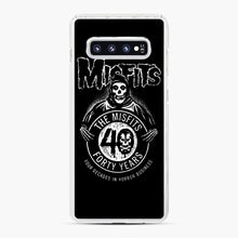 Load image into Gallery viewer, Misfits 40th Anniversary Samsung Galaxy S10 Plus Case, White Plastic Case | Webluence.com