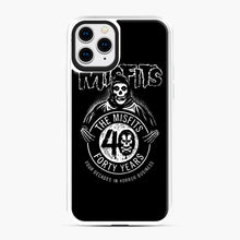 Load image into Gallery viewer, Misfits 40th Anniversary iPhone 11 Pro Case, White Plastic Case | Webluence.com