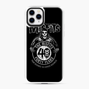 Misfits 40th Anniversary iPhone 11 Pro Case, White Plastic Case | Webluence.com