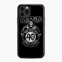 Load image into Gallery viewer, Misfits 40th Anniversary iPhone 11 Pro Case, Black Plastic Case | Webluence.com