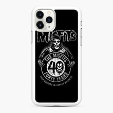 Load image into Gallery viewer, Misfits 40th Anniversary iPhone 11 Pro Case, White Rubber Case | Webluence.com