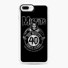 Load image into Gallery viewer, Misfits 40th Anniversary iPhone 7,8 Plus Case, White Rubber Case | Webluence.com