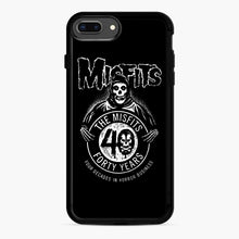 Load image into Gallery viewer, Misfits 40th Anniversary iPhone 7,8 Plus Case, Black Rubber Case | Webluence.com