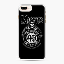 Load image into Gallery viewer, Misfits 40th Anniversary iPhone 7,8 Plus Case, White Plastic Case | Webluence.com