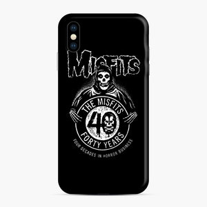 Misfits 40th Anniversary iPhone XS Max Case, Snap Case | Webluence.com