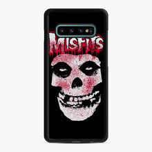 Load image into Gallery viewer, Misfits Bloody Skull Adult Samsung Galaxy S10 Plus Case, Black Rubber Case | Webluence.com