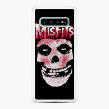 Load image into Gallery viewer, Misfits Bloody Skull Adult Samsung Galaxy S10 Plus Case, White Rubber Case | Webluence.com