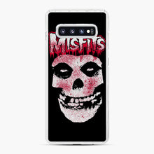 Load image into Gallery viewer, Misfits Bloody Skull Adult Samsung Galaxy S10 Plus Case, White Plastic Case | Webluence.com