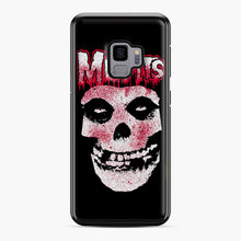 Load image into Gallery viewer, Misfits Bloody Skull Adult Samsung Galaxy S9 Case, Black Plastic Case | Webluence.com
