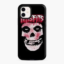 Load image into Gallery viewer, Misfits Bloody Skull Adult iPhone 11 Case, Snap Case | Webluence.com