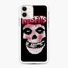 Load image into Gallery viewer, Misfits Bloody Skull Adult iPhone 11 Case, White Rubber Case | Webluence.com