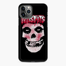 Load image into Gallery viewer, Misfits Bloody Skull Adult iPhone 11 Pro Max Case, Black Rubber Case | Webluence.com