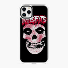 Load image into Gallery viewer, Misfits Bloody Skull Adult iPhone 11 Pro Max Case, White Plastic Case | Webluence.com