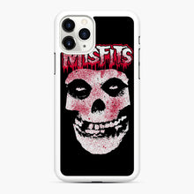 Load image into Gallery viewer, Misfits Bloody Skull Adult iPhone 11 Pro Max Case, White Rubber Case | Webluence.com