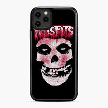 Load image into Gallery viewer, Misfits Bloody Skull Adult iPhone 11 Pro Max Case, Black Plastic Case | Webluence.com