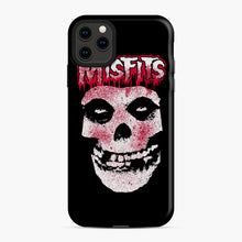 Load image into Gallery viewer, Misfits Bloody Skull Adult iPhone 11 Pro Max Case, Snap Case | Webluence.com
