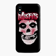 Load image into Gallery viewer, Misfits Bloody Skull Adult iPhone XS Max Case, Snap Case | Webluence.com