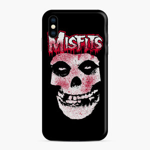 Misfits Bloody Skull Adult iPhone XS Max Case, Snap Case | Webluence.com