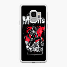 Load image into Gallery viewer, Misfits Coffin Graphic Samsung Galaxy S9 Case, White Rubber Case | Webluence.com