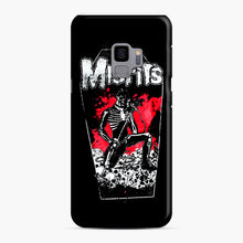 Load image into Gallery viewer, Misfits Coffin Graphic Samsung Galaxy S9 Case, Snap Case | Webluence.com