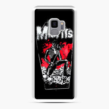 Load image into Gallery viewer, Misfits Coffin Graphic Samsung Galaxy S9 Case, White Plastic Case | Webluence.com