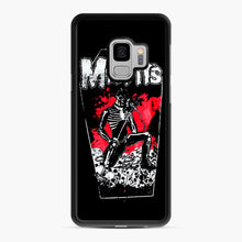 Load image into Gallery viewer, Misfits Coffin Graphic Samsung Galaxy S9 Case, Black Rubber Case | Webluence.com